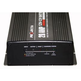 Projecta DC20 3 Stage Automatic DC to DC Battery Charger 12V  20A