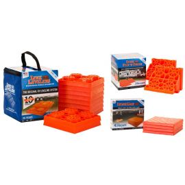 8ZED LYNX Leveler Chock n Cap Safety Kit for Caravan and Trailers