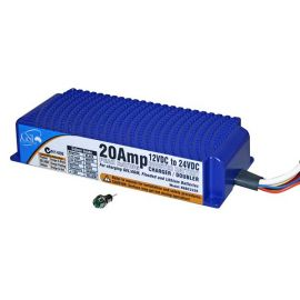 voltage doubler or 3-stage 24V battery charger NGBC2420