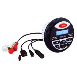 160W Compact USB MP3 Player with AM FM Tuner Bluetooth