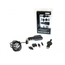 Universal Car Charger Kit for Various Mobiles, iPad, iPhone & iPod